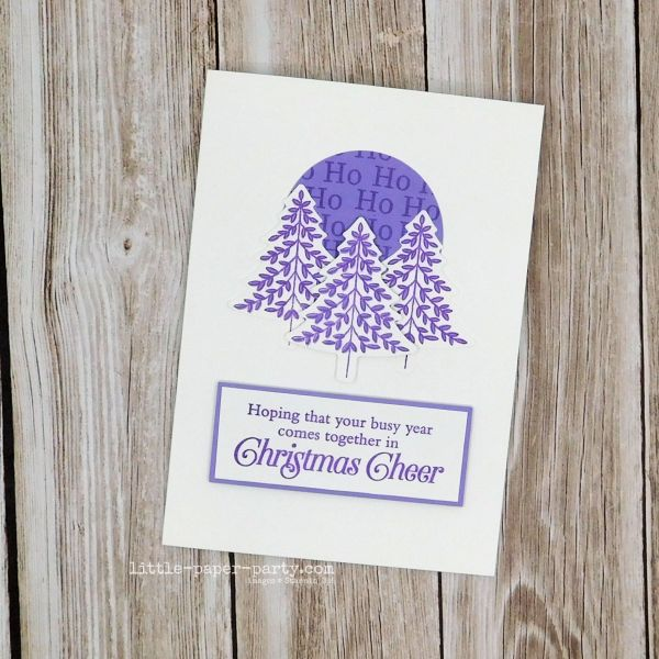 Little Paper Party, #simplestamping, Perfectly Plaid, 1