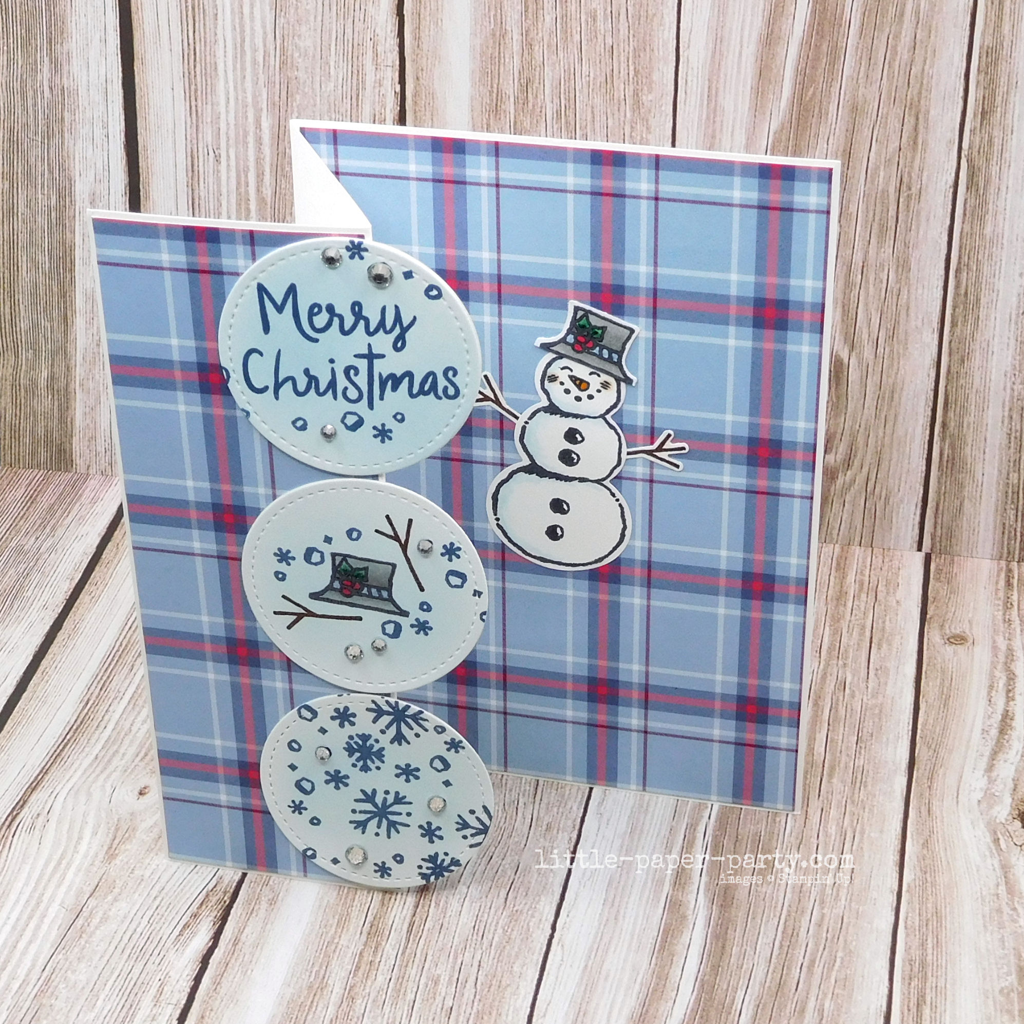Little Paper Party, Snowman Season, Snowman Builder Punch, Stitched Shapes Dies, Festive Friday, 2