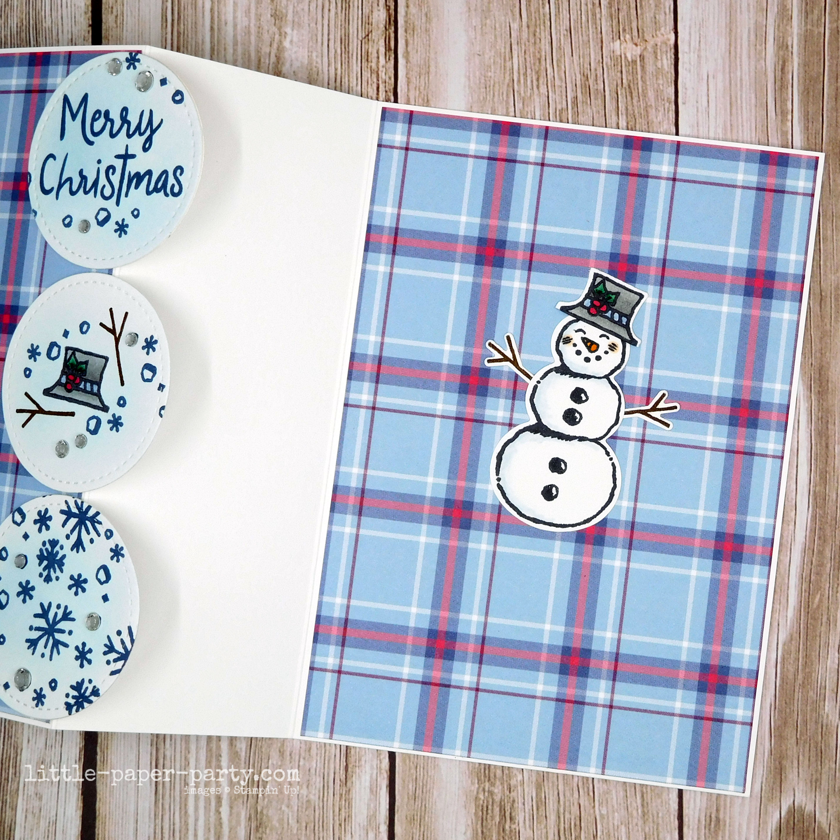 Little Paper Party, Snowman Season, Snowman Builder Punch, Stitched Shapes Dies, Festive Friday, 3