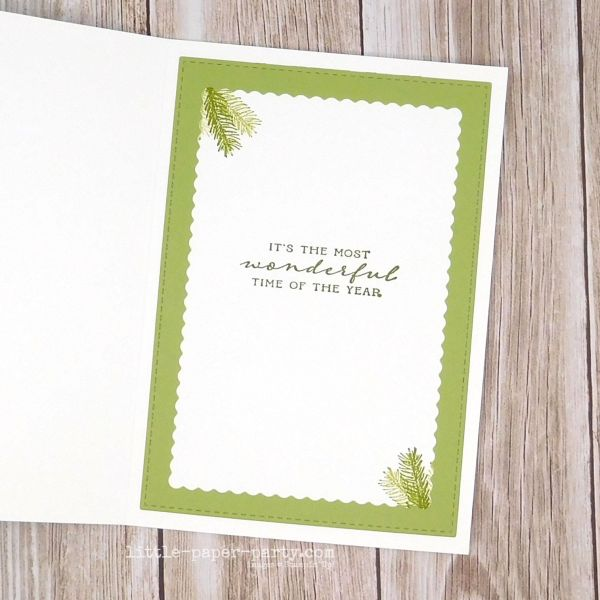 Little Paper Party, Wrapped In Christmas, Winter Woods, 4