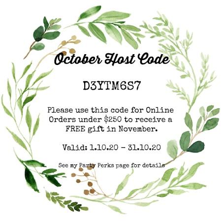 Host Code October 2020