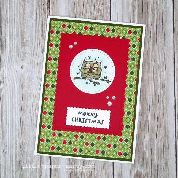 Little Paper Party, Have A Hoot Bundle, Stitched So Sweetly Dies, Festive Friday, 1
