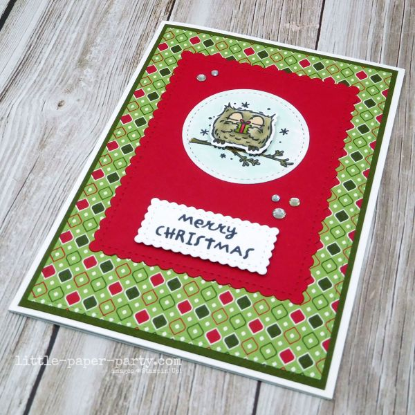 Little Paper Party, Have A Hoot Bundle, Stitched So Sweetly Dies, Festive Friday, 3