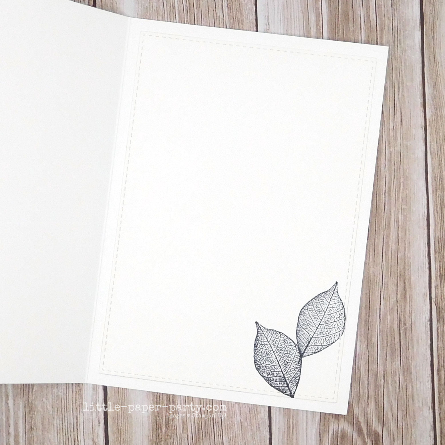 Little Paper Party, Rooted In Nature, Nature's Roots Dies, Woodland Embossing Folder, 4