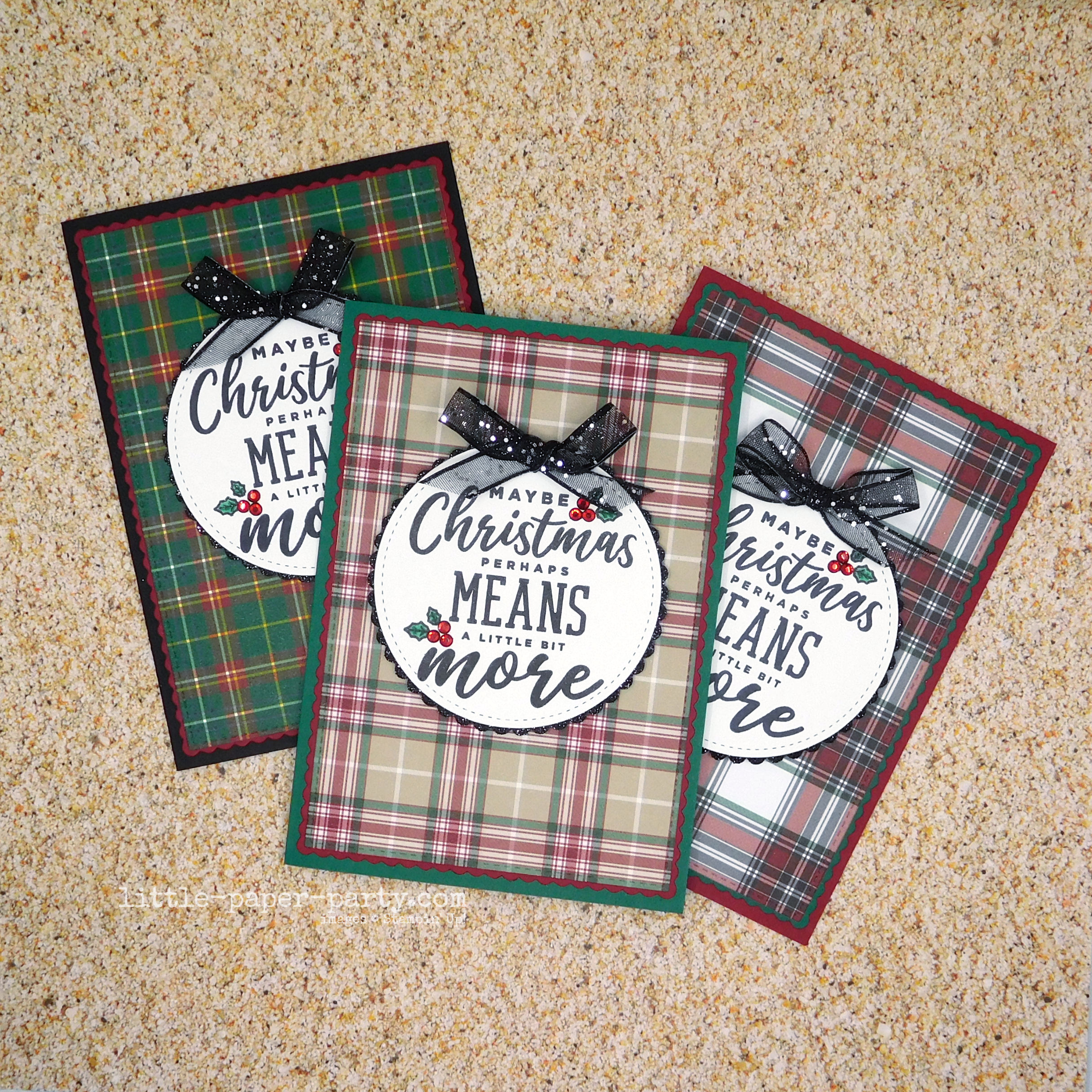 Little Paper Party, 12 Days of Christmas 2020 - Stamp-A-Stack #1, 1