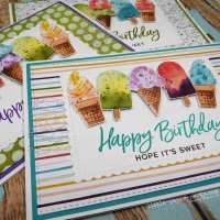 Quick & Easy Ice Cream Cards