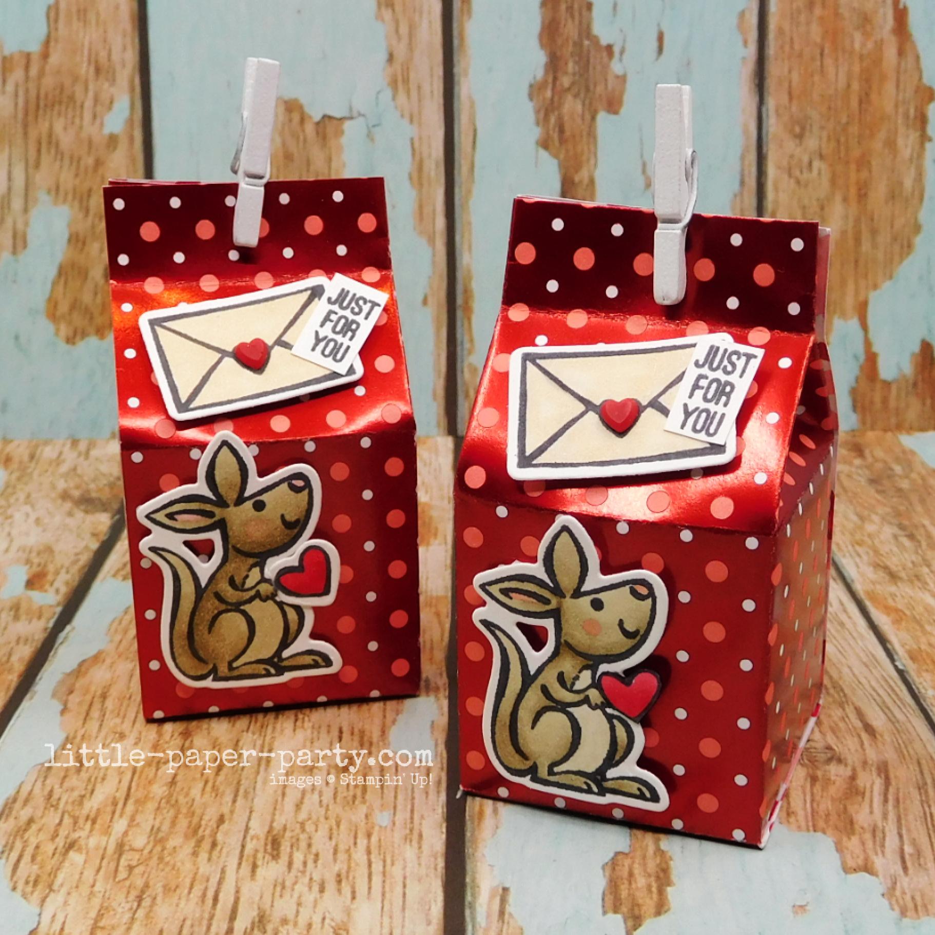Little Paper Party, Valentine's Day 2021 #1 - Mini Milk Carton 1