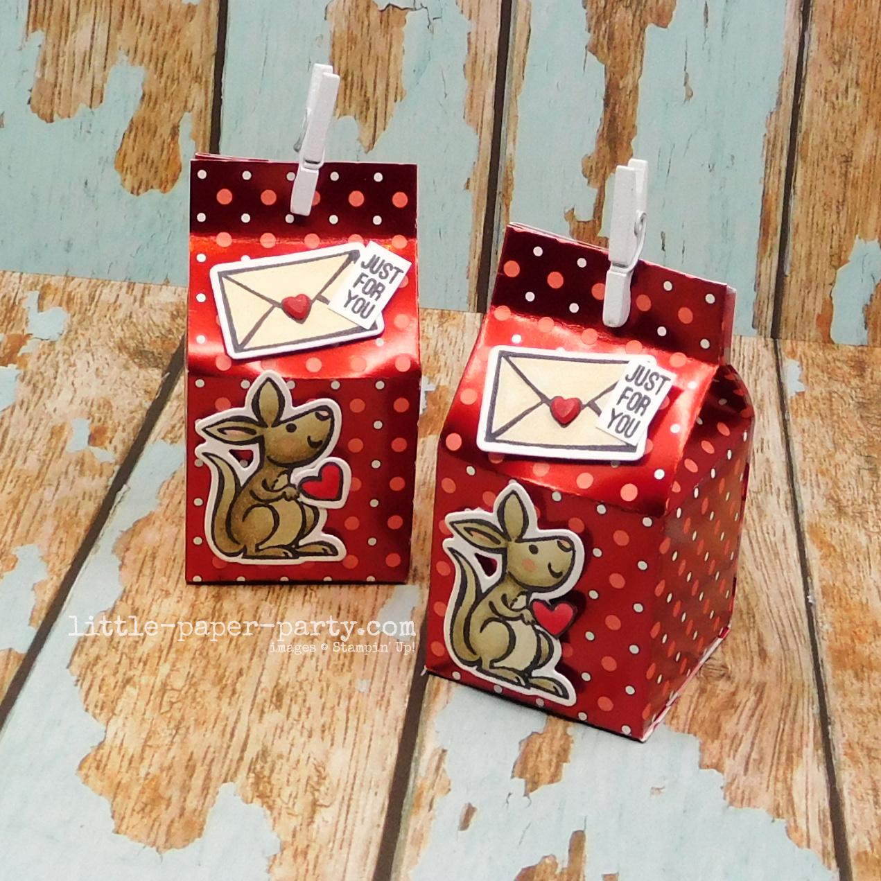 Little Paper Party, Valentine's Day 2021 #1 - Mini Milk Carton 2