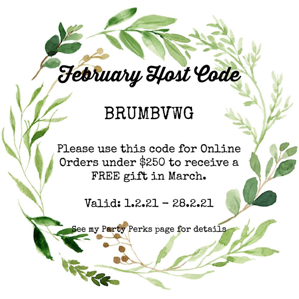 Host Code February 2021